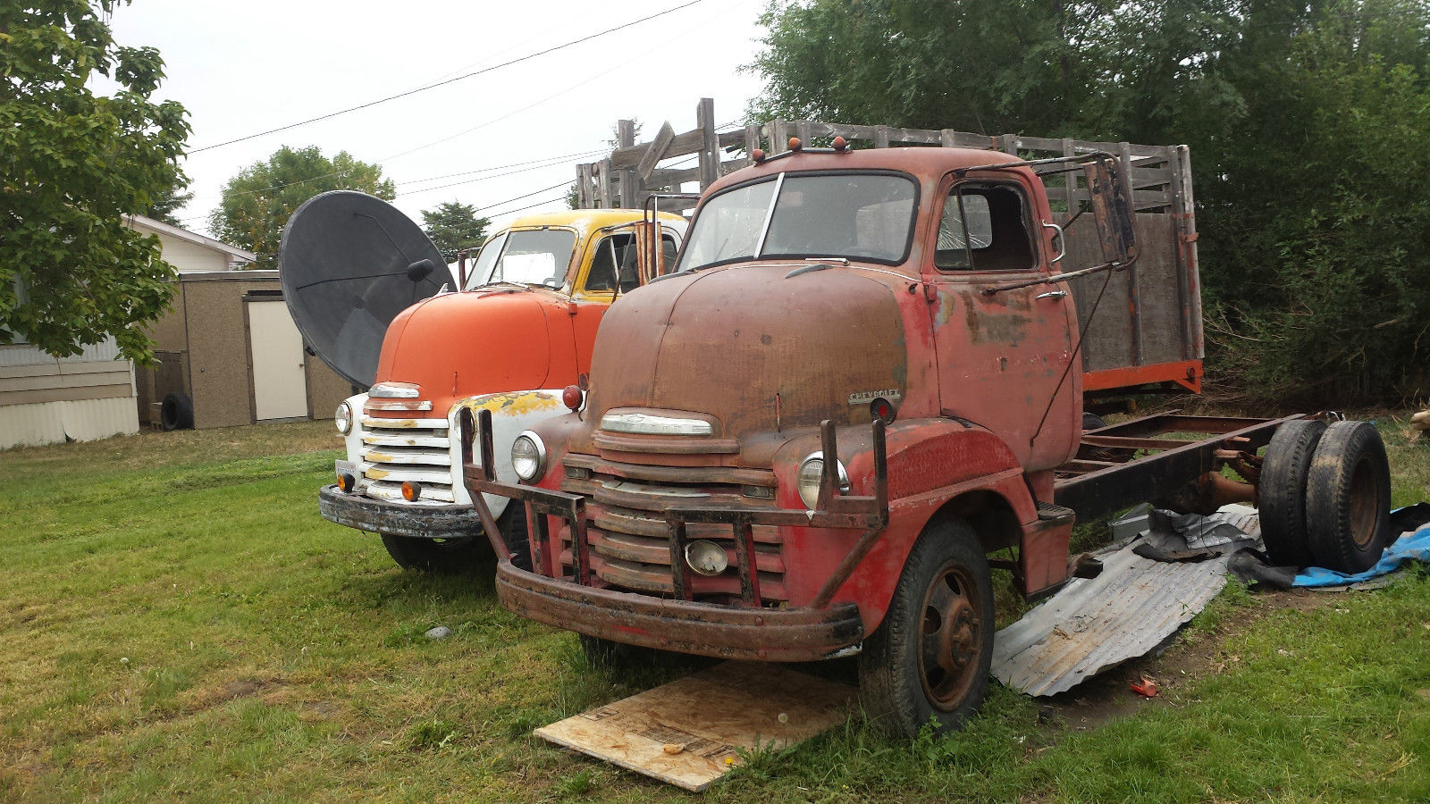 1950 Chevrolet Coe Cabover 2 Ton Dually Ratrod Hot Rod Hauler Runs 1949 Chevy Truck Other Pickups