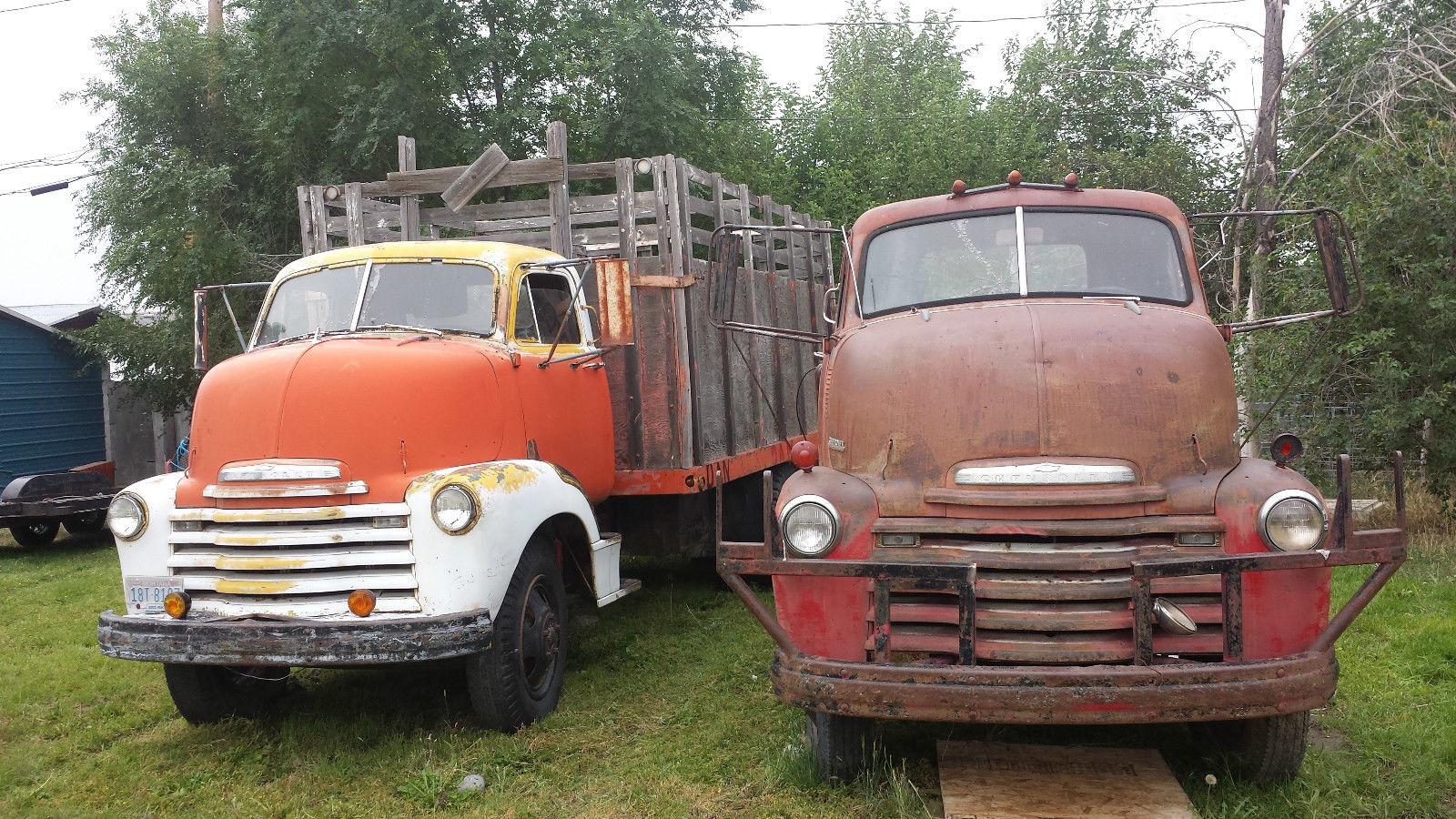 1950 Chevrolet COE CABOVER 2 TON DUALLY RATROD HOT ROD HAULER RUNS AND DRIVES for sale in Glenns