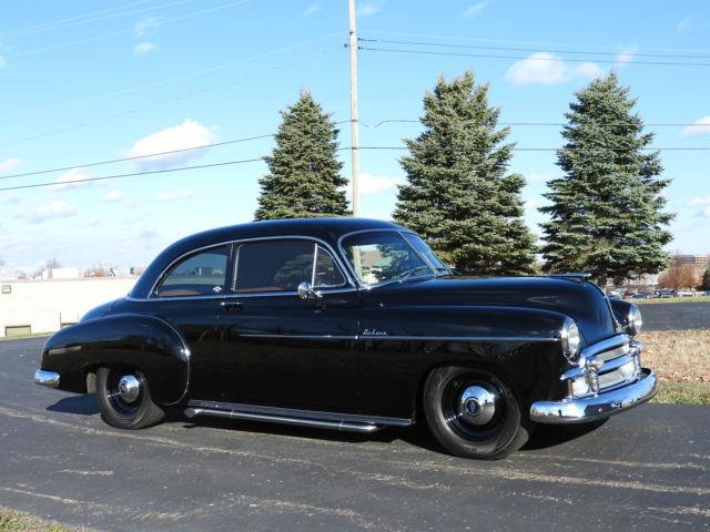 1950 chevrolet deluxe 2 door sport coupe custom resto mod for 1950 chevy deluxe 2 door