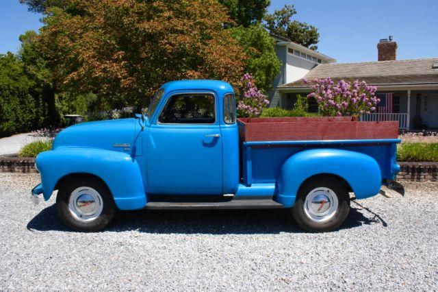 1950 chevrolet pickup 5 window 1 2 ton california truck for 1950 chevrolet 5 window pickup