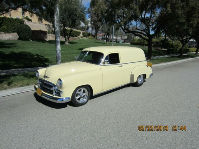 1950 Chevrolet Sedan Delivery for sale: photos, technical