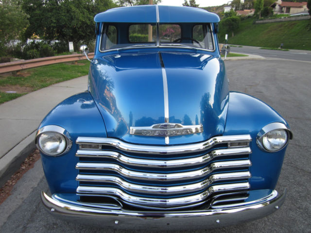 1950 Chevy 3100 Pickup Deluxe 5 Window Cab All Original