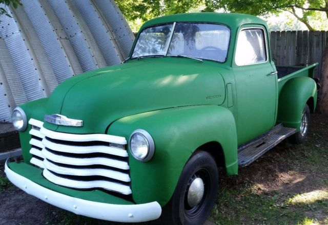 1950 chevy 5 window pickup truck 3100 1948 1951 1949 1952 for 1952 chevy truck 5 window