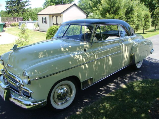 Classic Chevy Mentor >> 1950 Chevy Belair Deluxe Hardtop for sale: photos ...