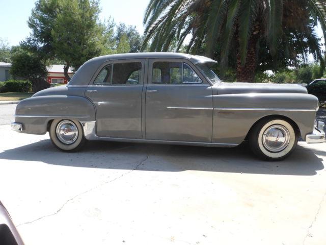 1950 dodge coronet 4 door sedan for sale in hemet for 1950 dodge coronet 2 door