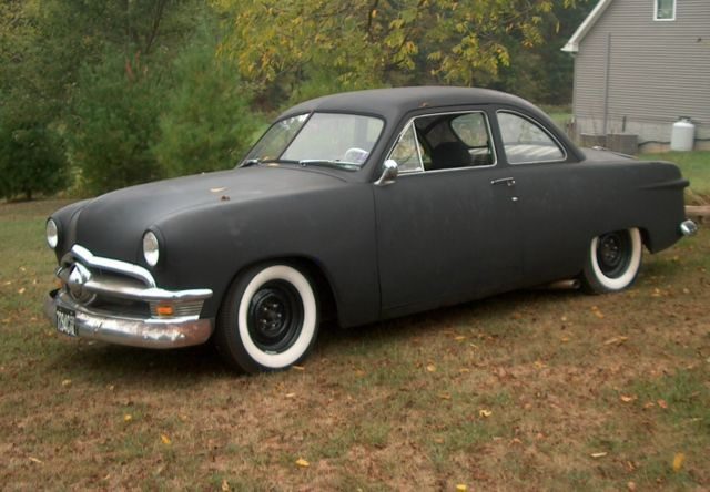 1950 ford 2 door coupe hot rat rod for 1950 ford two door