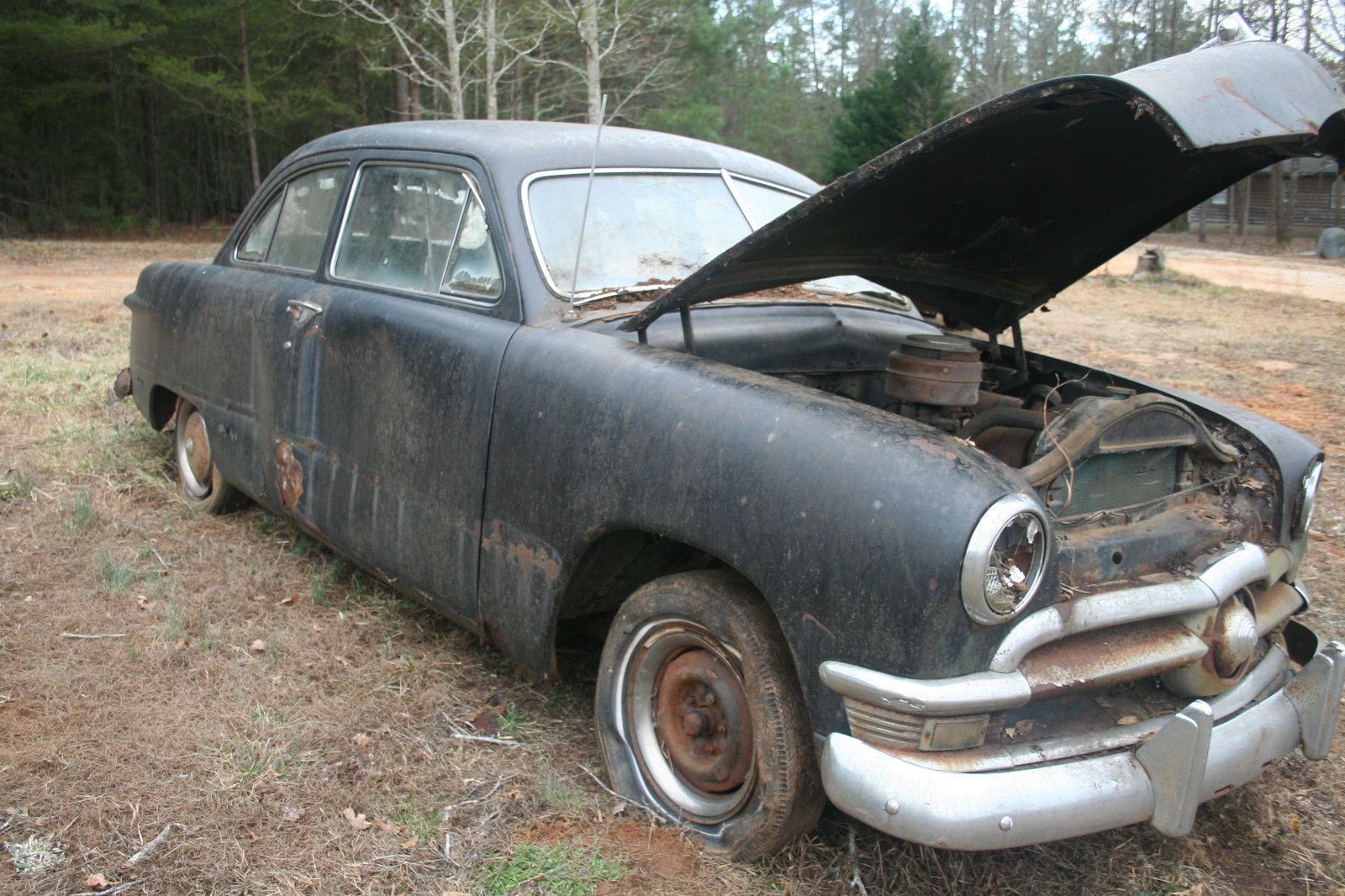 1950 Ford Custom Project Parts Car For Sale In Lavonia