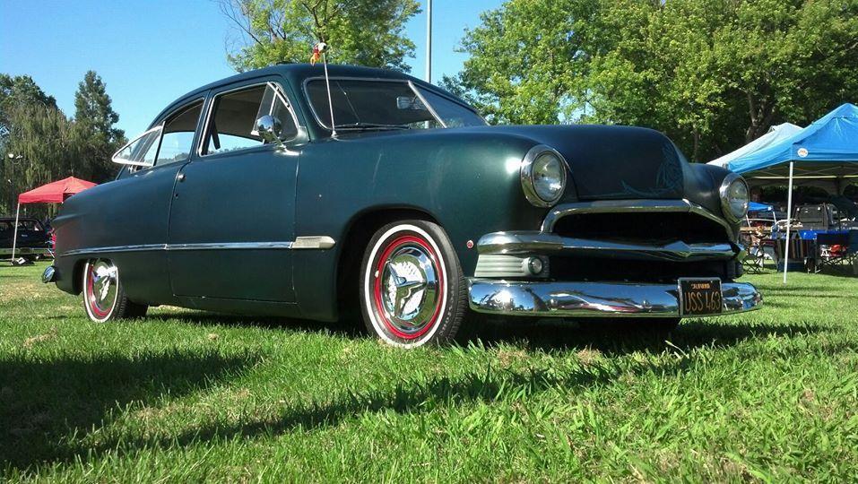 1950 Ford Shoebox Custom 2 Door Sedan Beautiful Ca Car V 8