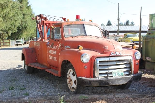 1950 gmc 300 series tow truck for sale in portland oregon united states. Black Bedroom Furniture Sets. Home Design Ideas