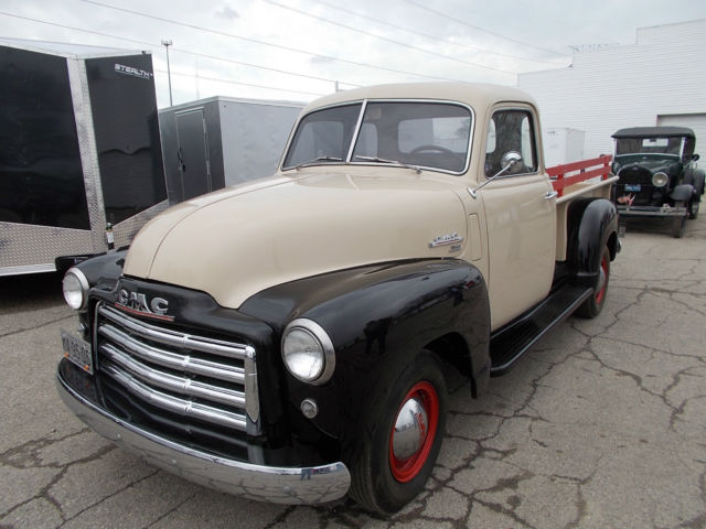 1950 gmc pickup 150 series for sale in monroe michigan united states. Black Bedroom Furniture Sets. Home Design Ideas