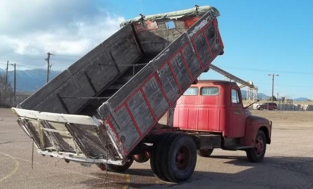 1950 international harvester flat bed dump l170 truck for sale in colorado springs colorado. Black Bedroom Furniture Sets. Home Design Ideas