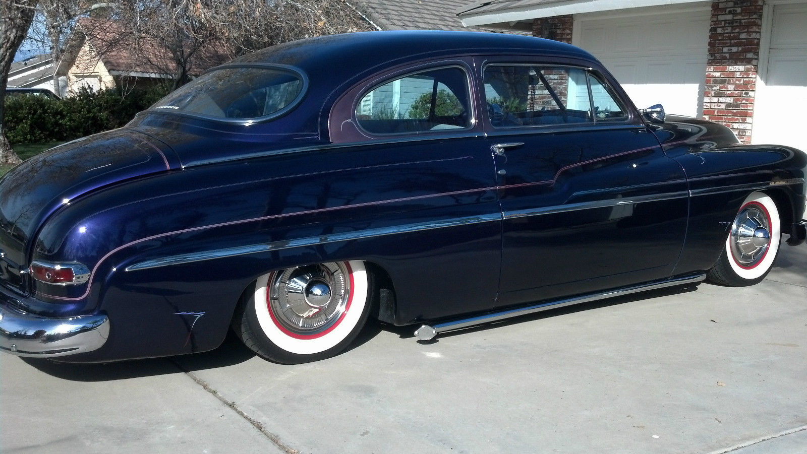 1950 mercury coupe for sale in riverside california united states. Black Bedroom Furniture Sets. Home Design Ideas