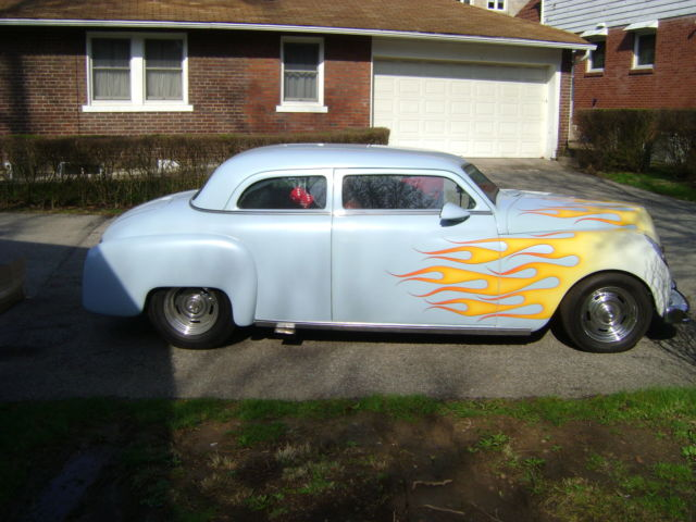 1950 plymouth 2 door coupe hot rod chop top custom for 1950 plymouth 2 door coupe
