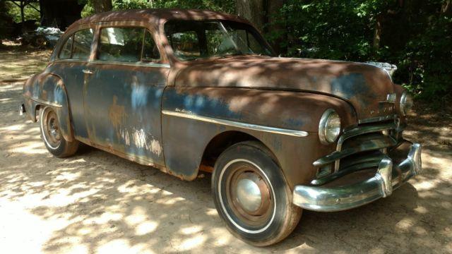 1950 plymouth 2 door slant back sedan for 1950 plymouth 2 door sedan