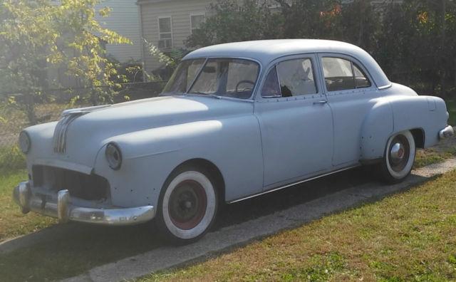 1950 pontiac cheiftain 4 door classic car project for 1950 pontiac 2 door