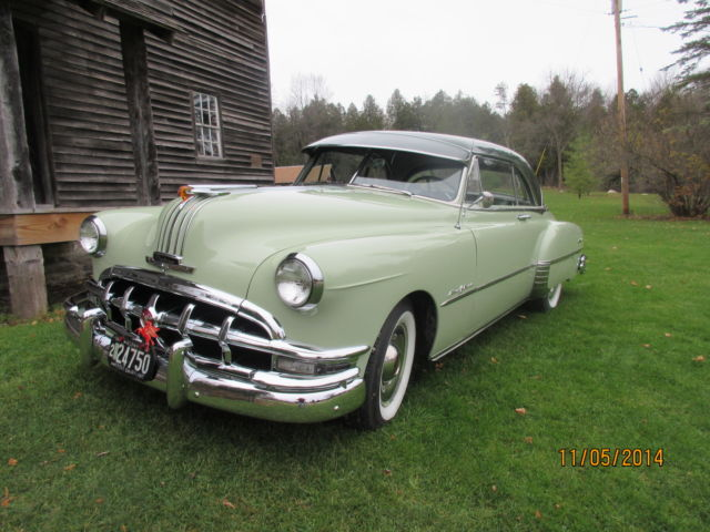 1950 pontiac chieftan catalina deluxe 2 door hardtop for