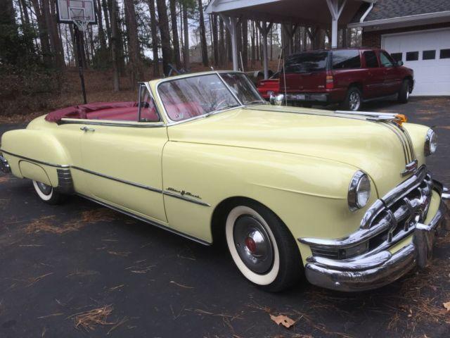 1950 Pontiac Silver Streak Convertible For Sale In Cornelius North Carolina United States For Sale Photos Technical Specifications Description