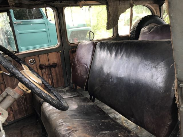 1950 Willys Wagon Barn Find Rat Hot Rod Classic Rare 2 Wd Project Custom Gasser For Sale  Photos