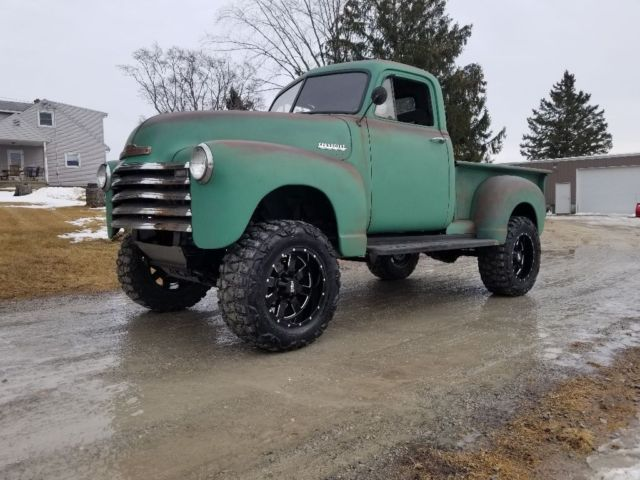 Chevrolet Pickup Truck X Bt Cummins Off Road Rat Rod Swap on Chevy S10 Lifted