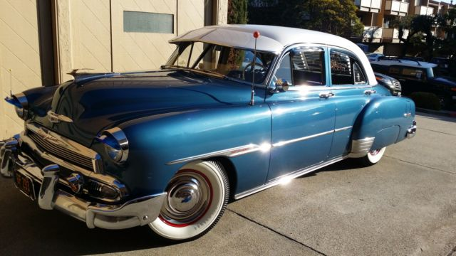 1951 chevrolet styleline deluxe 4 door sedan for sale in