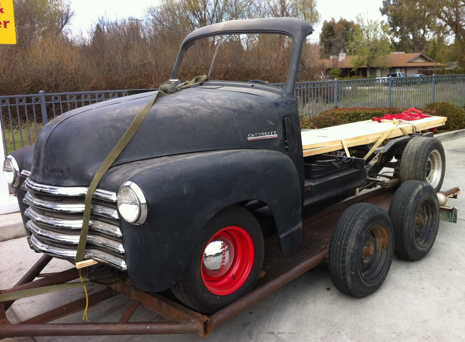 1951 Chevrolet Truck Woody Project On S10 Frame 1947 1948 1949 1950 1952 Woodie For Sale In Buellton California United States For Sale Photos Technical Specifications Description