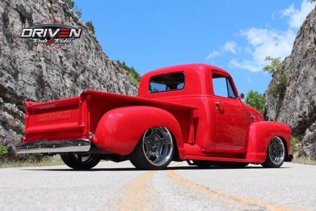 1951 chevy 3100 pickup resto mod 350ci v8 db ps air ride for West chevrolet airport motor mile