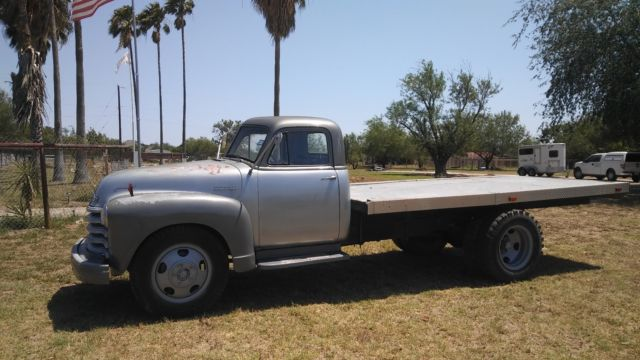 Chevy Flatbed Truck Rat Rod Hot Rod Project