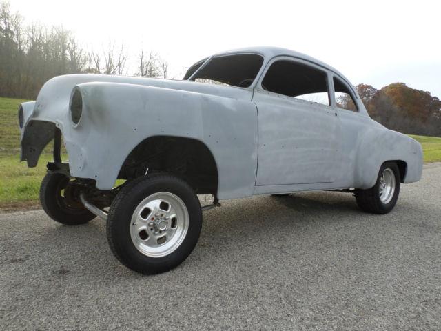 1951 Chevrolet Bel Air 150 210 RARE BUSINESS COUPE GASSER PLUS EXTRA PARTS CAR