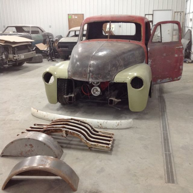 1951 Chevy Truck Rat Rod Project