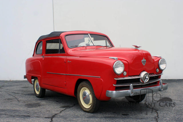 1951 crosley convertible great runner rare convertible for sale in los angeles ca united. Black Bedroom Furniture Sets. Home Design Ideas