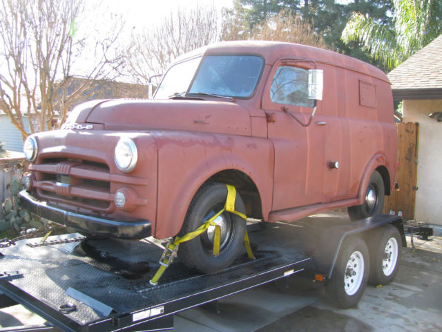 Yuba City Dodge >> 1951 Dodge B3B Panel Truck