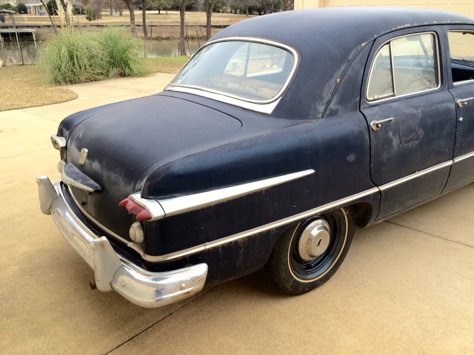 1951 ford custom 4 door v8 for sale in keller texas