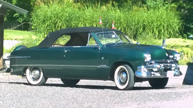 1951 Ford Custom Deluxe Convertible For Sale In Eureka