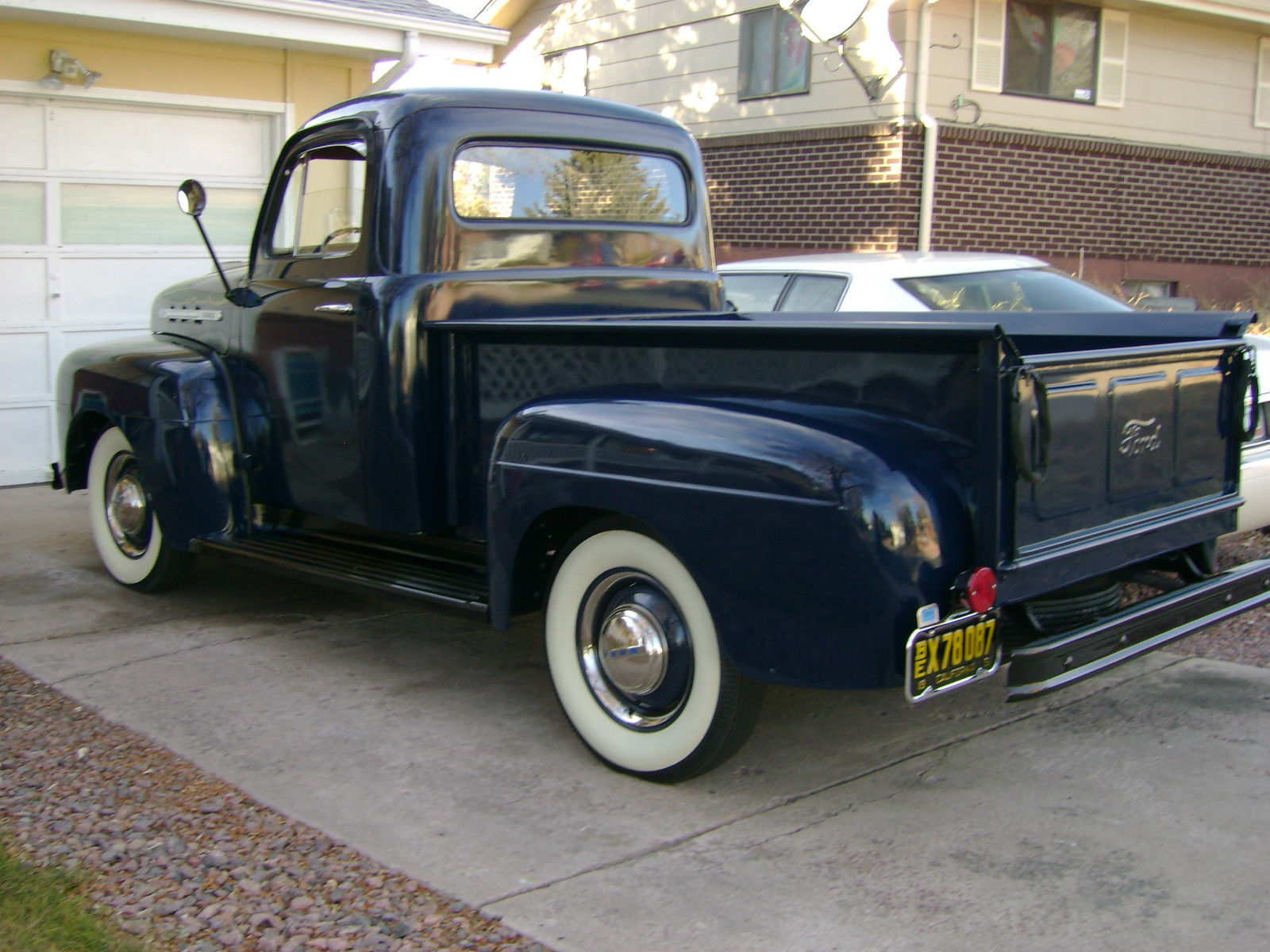 1951 Ford F 100 Pick Up Truck Gorgeuos Show Quality Washington Blue Original For Sale