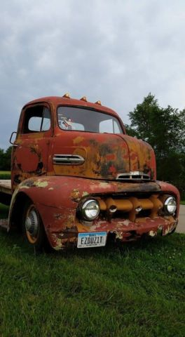 59 1951 Ford Cabover For Sale