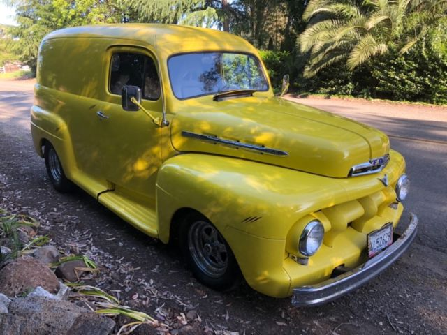 e560c5b201 1951 FORD F100 PANEL TRUCK MILD OLD SCHOOL HOT ROD for sale  photos ...