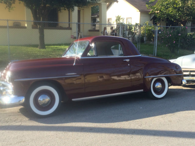 1951 plymouth concord buisnes cupe for sale in houston for 1951 plymouth 2 door