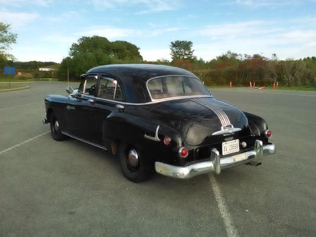 1951 Pontiac Chieftain Factory Built Police Car 1949