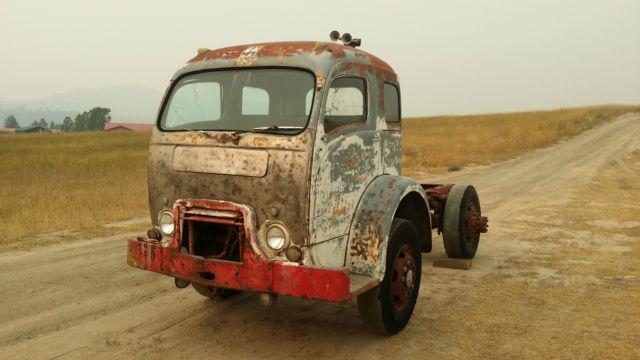 1951 WHITE 3000 COE CABOVER SNUBNOSE TRUCK: KUSTOM HOT RAT ...