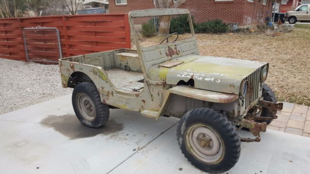 Willys Military Jeep Sale >> 1951 Willys M38 Military Jeep For Sale Photos Technical