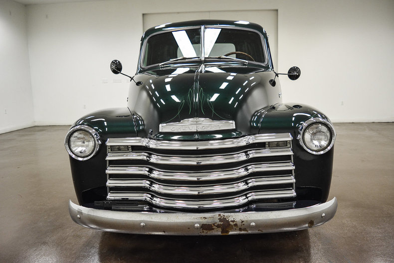 1952 Chevrolet 3100 63373 Miles Green Pickup Truck 216ci