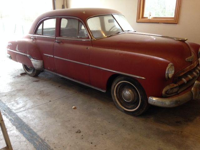 1952 chevrolet 4 door deluxe for sale in westerville ohio for 1952 chevy 4 door