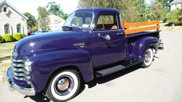 1952 Chevrolet 5 Window 3100 Pickup Stunning Show Truck