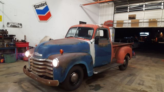 1952 Chevy 3100 Pickup Truck Short Bed 47 54 For Sale