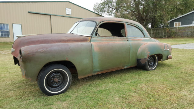 1952 chevy car 2 door sedan deluxe ratrod hot rod patina for 1952 chevy 2 door sedan