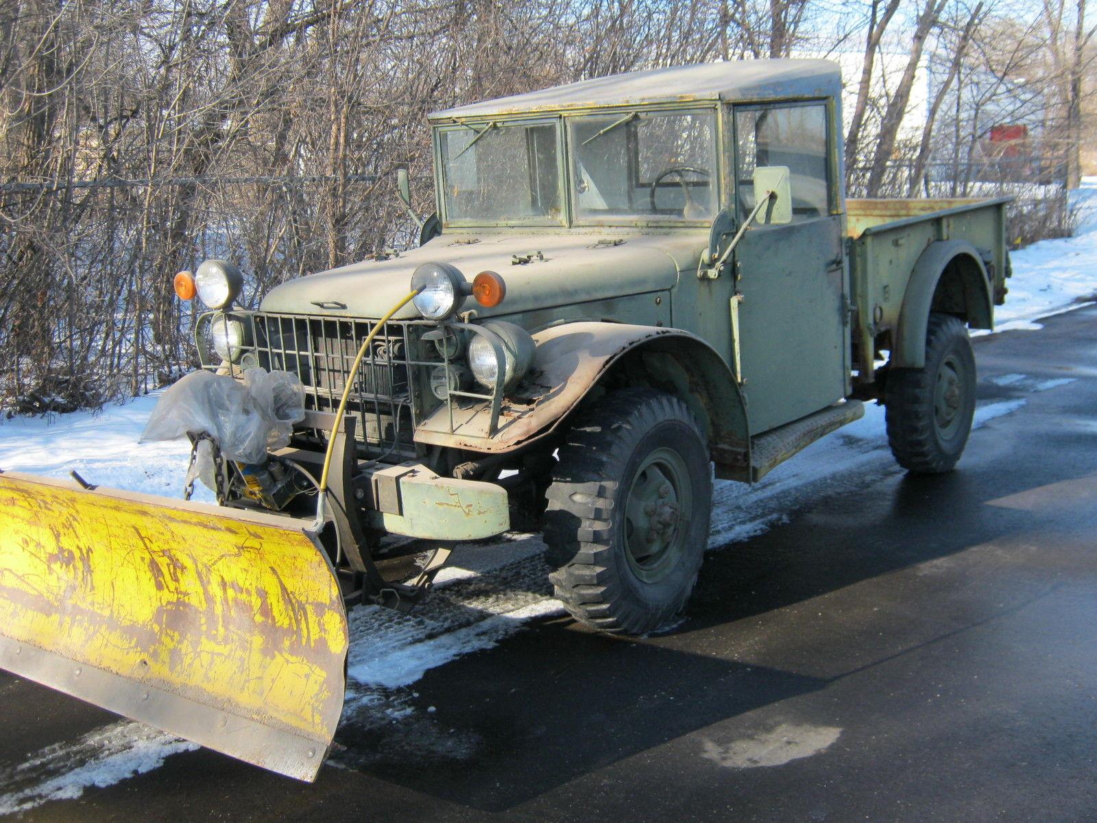 1952 Dodge Powerwagon Military Truck For Sale In Waukesha Wisconsin 1954 Power Wagon