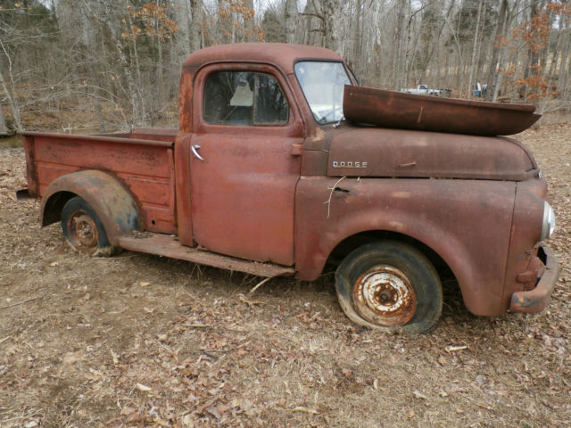 Dodge Truck Parts >> 1952 Dodge Truck Pickup Ratrod Project Parts Truck For Sale In Tell