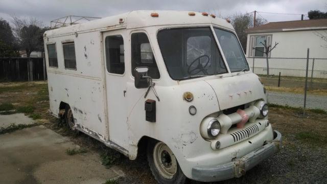 Ford Vanette Stepvan Rare Metro Style Step Van on 1962 Ford Truck