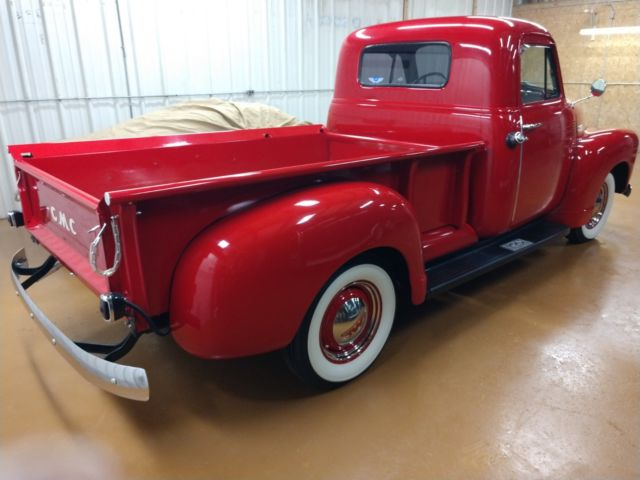 1952 Gmc 1 2 Ton Pickup Rust Free 54k Actual Miles