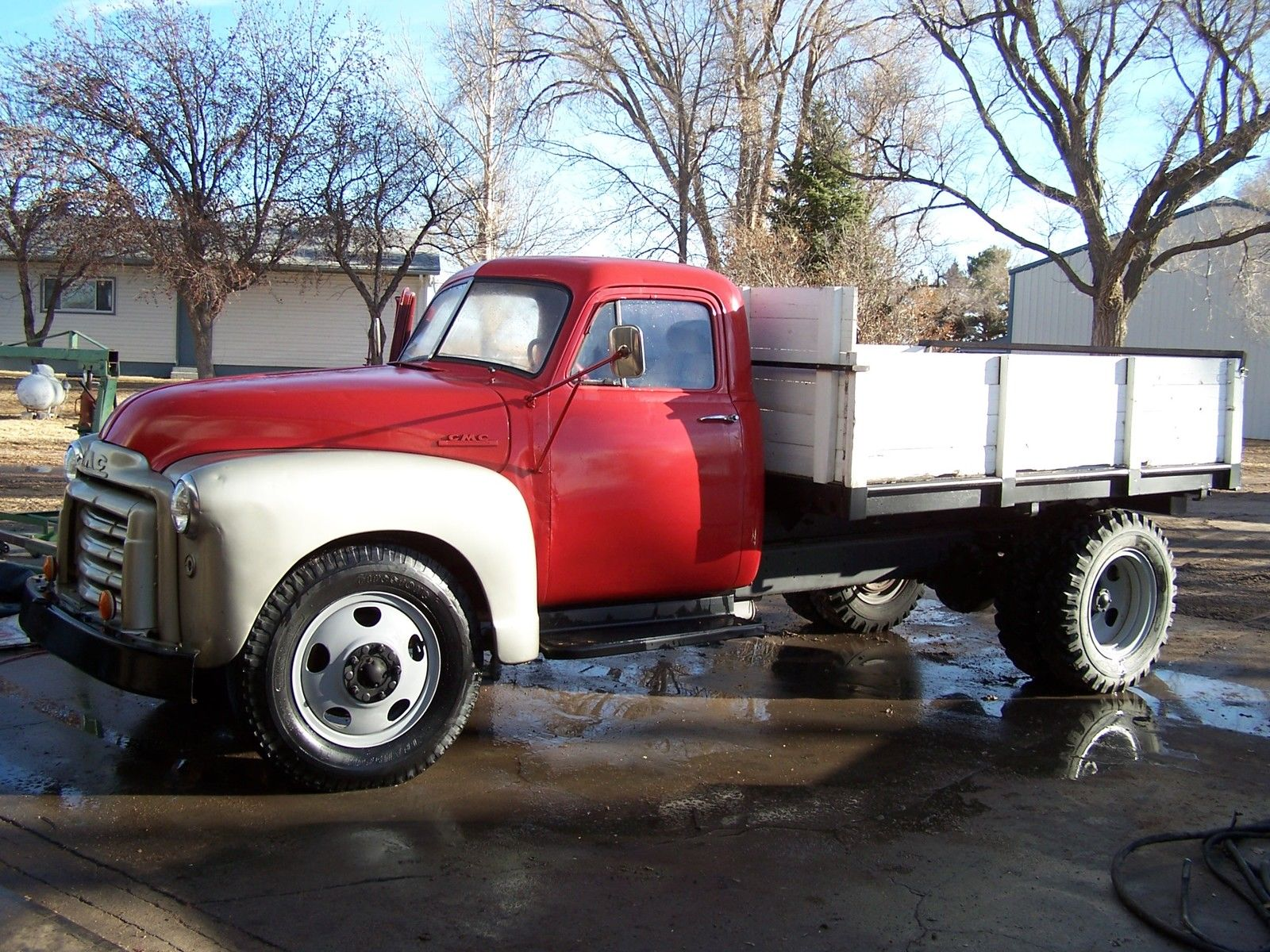 1952 Gmc 2 Ton Dump Truck Looks Runs Shfts Drives Good Nice Old Truck For Sale In Venango Nebraska United States For Sale Photos Technical Specifications Description